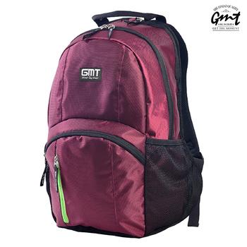 GMT挪威潮流品牌 專業電腦背包,附15吋筆電夾層(酒紅色)