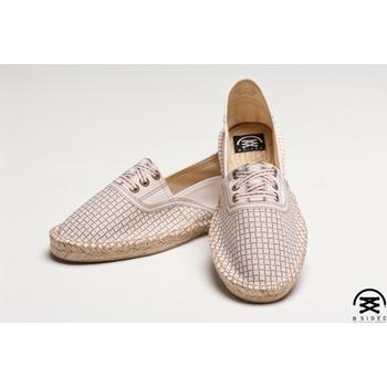 BSIDED BSD Groover Dot White 仿真時尚設計印刷鞋(白格)(男款)(44)