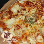 《披薩市》10吋多人分享-野菇蒟蒻披薩口味(奶素)(片)