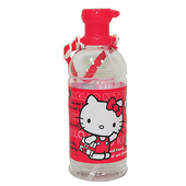 《HELLO KITTY》凱蒂貓寶特瓶水壺600ml(吸管式)(紅)