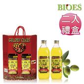 《囍瑞 BIOES》純級100% 純橄欖油伴手禮(1000ml - 禮盒裝2入)(W010101)