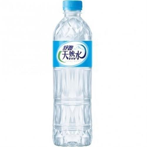 舒跑 天然水(600mlx24瓶/箱)