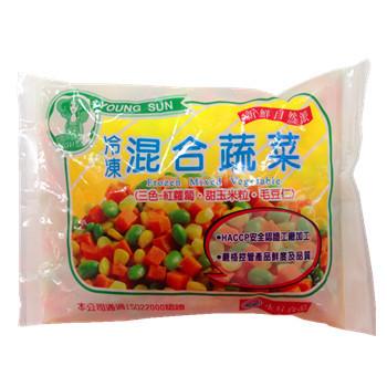 永昇 冷凍混合蔬菜(毛豆仁三色)(500g/包)