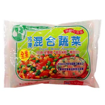 永昇冷凍混合蔬菜(青豆仁三色)(500g/包)