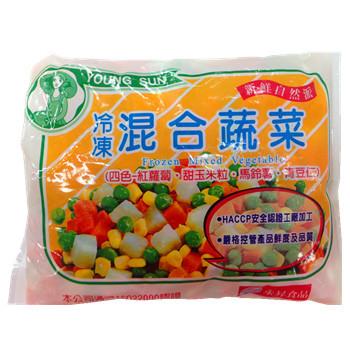 永昇冷凍混合蔬菜(四色)(500g/包)