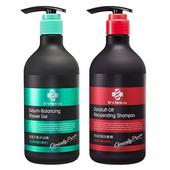 《台塑生醫》Dr's Formula 洗髮&沐浴超值促銷組合(控油抗屑洗髮精580g+皮脂平衡沐浴精580g)