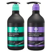 《台塑生醫》Dr's Formula 洗髮&沐浴超值促銷組合(晶極潤澤洗髮精580g+皮脂平衡沐浴精580g)
