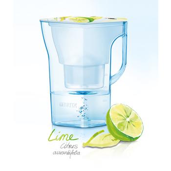 德國BRITA 涼夏清新搶先上市 Navelia若薇亞2.3L濾水壺-檸檬款【內含一支濾芯】.
