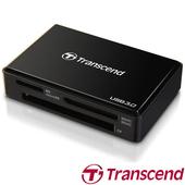 《Transcend 創見》RDF8 F8 USB 3.0(多功能讀卡機)(黑色)
