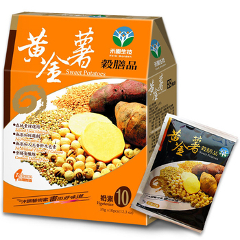 禾園生技 黃金薯穀膳品35公克x10包(共2盒)