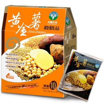 禾園生技 黃金薯穀膳品35公克x10包(共4盒)