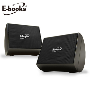 E-books D3 二件式交響曲重低音多媒體喇叭(古銅)