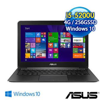 ASUS UX305LA-0081A5200U 13.3吋QHD+畫質極致筆電 (i5-5200U/4G/256GSSD/Win10)(黑)