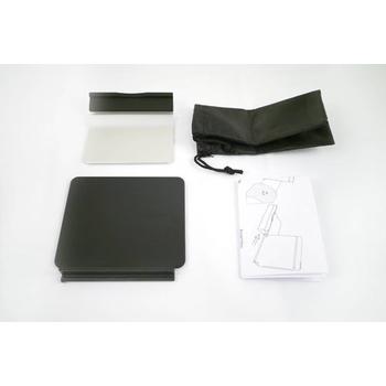 FUNDIGITAL 攜帶式平板電子書架(橡膠漆)