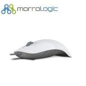 《MorroLogic》繽紛蘋果鯊USB精密光學有線滑鼠_WCG白灰(02WCG白灰)