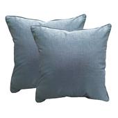 《J&N》卡洛琳抱枕(藍色 -2入)(45*45cm)