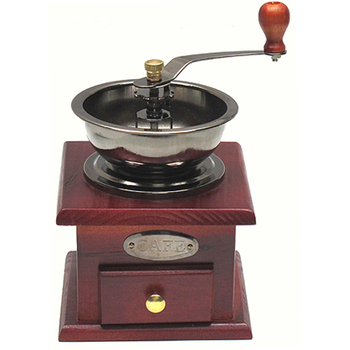 月陽 手工木製咖啡豆可調粗細磨豆機研磨機(174056)