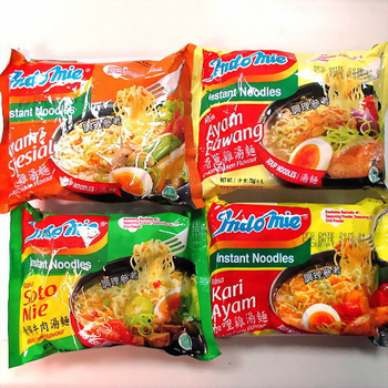 《Indomie》營多 湯麵系列4種綜合各10包(青檸牛肉/特色雞湯/香蔥雞湯/咖哩雞湯)(共40包入/1箱)(75g/包)