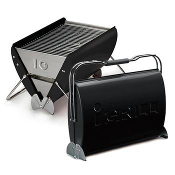 O-Grill i-Grill 10 美式時尚可攜式煤炭烤肉爐(個性黑)