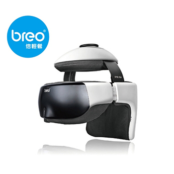 Breo倍輕鬆 眼部/頭部按摩器-iDrem3s(加碼送Breo眼周按摩器)