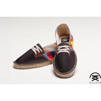 BSIDED Gump Blue 仿真時尚設計印刷鞋(彩格)(男款)(43)