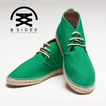 BSIDED ARCHIBALD MID UK GREEN中筒麻帆鞋(綠)(44)