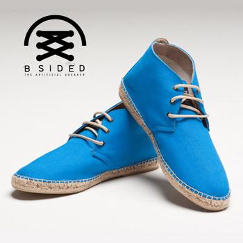 BSIDED ARCHIBALD MID ELECTEIC BLUE中筒麻帆鞋(藍)(43)