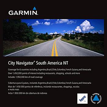 GARMIN City Navigator South America 南美洲 地圖圖卡 【原廠公司貨】