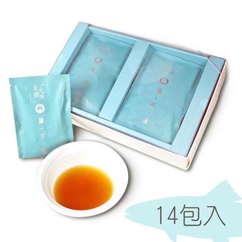 《東晟水產》幸福元味 滴萃補 鱸魚精(14包/盒)