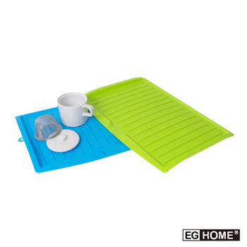 EG Home 宜居家 可吊掛式餐具收納瀝水盤(3入組)