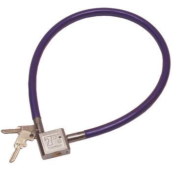 月陽 台灣製造10mm方型不鏽鋼鎖頭專業鋼纜鎖(2012)