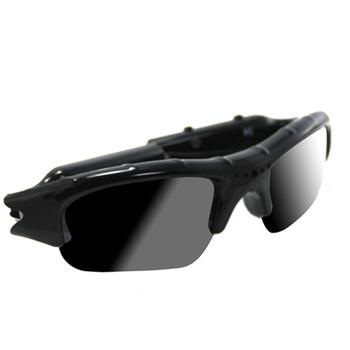 ★結帳現折★ 太陽眼鏡款多功能隱匿型針孔行車記錄器480P(黑)