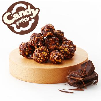 Candypoppy 糖果波比 裹糖爆米花-巧克力(50g/包)