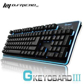 B.FRIEND 發光鍵盤 GK3(黑色)