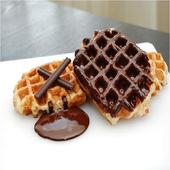 《Delicieux珍珠糖鬆餅》比利時黑巧克力棒(獨家)(120g±10%/片)