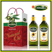 《Olitalia》奧利塔葵花油禮盒(1000ml*2瓶組)