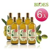 《【囍瑞 BIOES】》魯賓冷壓特級100% 純橄欖油(1000ml - 6入)