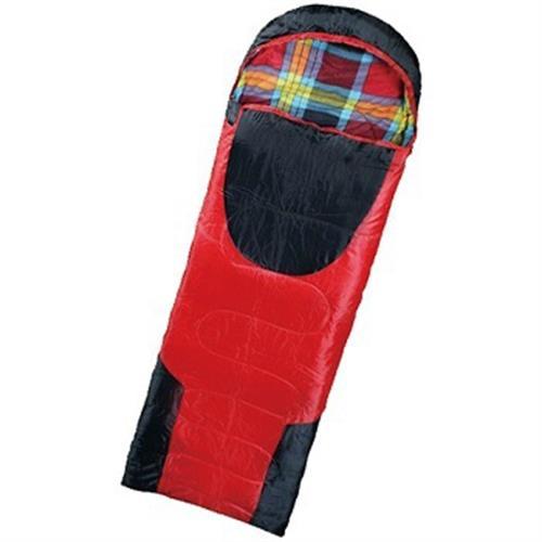 法蘭絨纖維睡袋((180+35)x75cm)