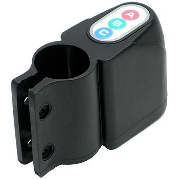 月陽 自行車密碼高分貝震動感應防盜器警報器(8193)