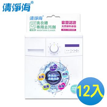清淨海 槽洗淨 洗衣槽專用去污劑 300g(12入/箱)