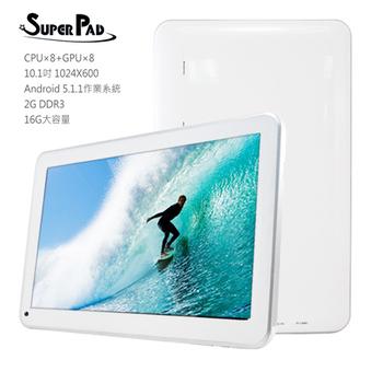 SuperPad A1-104 10.1吋 真八核心 HDMI平板電腦(2G/16GB)(平板白色)