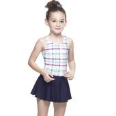 《【SARBIS】》MIT女童連身裙泳裝附泳帽B88422(14-)