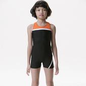 《【SARBIS】》MIT女童連身四角泳裝附泳帽B85261(12-)