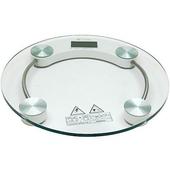 《月陽》圓型150公斤厚鋼化玻璃體重計(2003A)