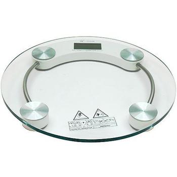 月陽 圓型150公斤厚鋼化玻璃體重計(2003A)