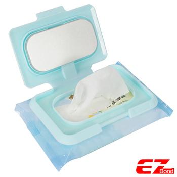★結帳現折★EZ Bond 濕紙巾暖暖蓋 附USB連接線(NNC-220S)(藍色)