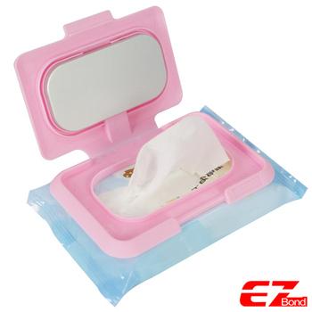 ★結帳現折★EZ Bond 濕紙巾暖暖蓋 附USB連接線(NNC-220S)(粉色)