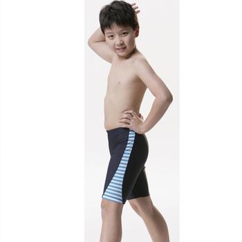 《【SARBIS】》MIT彈性兒童七分泳褲附泳帽B65207(12-)
