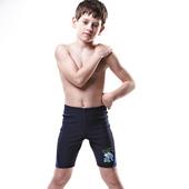 《【SARBIS】》MIT彈性兒童七分泳褲附泳帽B65102(14-)