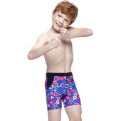 《【SARBIS】》MIT彈性兒童五分泳褲附泳帽B63409(10-)